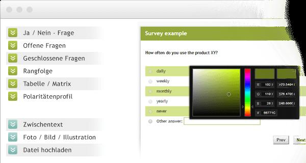 Fragebogen erstellen