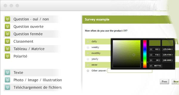 Créer votre questionnaire